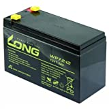 Bleiakku KUNG LONG WP72-12 12V/72Ah VdS 151x65x102mm 2,67kg