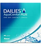 Dailies AquaComfort Plus Tageslinsen weich, 90 Stück / BC 8.7 mm / DIA 14 mm.0 / -5,50 Dioptrien