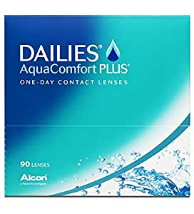 Dailies AquaComfort Plus Tageslinsen weich, 90 Stück / BC 8.7mm / DIA 14.0 / -1,75 Dioptrien