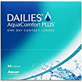 Dailies AquaComfort Plus Tageslinsen weich, 90 Stück / BC 8.7 mm / DIA 14.0 / -2,00 Dioptrien
