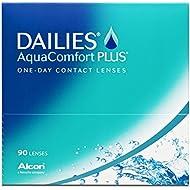 Alcon Ciba Vision Dailies Aquacomfort Plus Tageslinsen weich, 90 Stück / BC 8.7 mm / DIA 14 / -2 Dioptrien