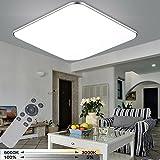 WYBAN 36W Dimmbar LED Deckenleuchte Deckenlampe Wohnzimmer bad Küche Panel Leuchte (36W Dimmbar+FB)