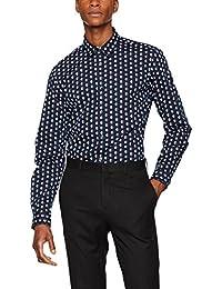 FIND Oliver Spot, Camisa Slim Fit para Hombre