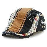 Baschi scozzesi Cappelli e cappellini Tioamy camuffamento Coppola Cappello Irish Gatsby Newsboy Hat Flat Cap