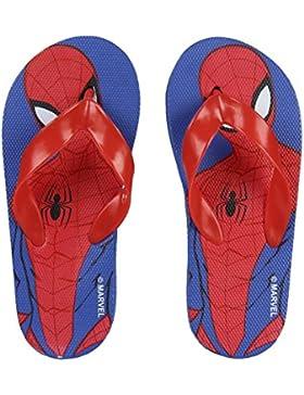 Marvel Sandalias de Caucho Para Niño Rojo Rojo
