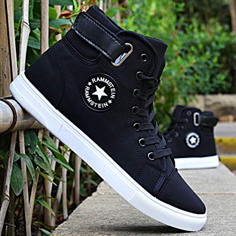 AIMENGA Chaussures pour Hommes Automne Chaussures Plates Chaussures pour - Hommes Mode Sports Chaussures Hautes... - pour B07K828G6F - 3b8051