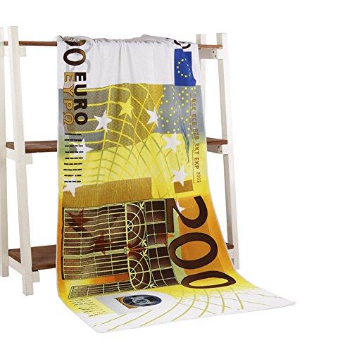 Asenart ® Mandala Strand Handtuch Druck Strand Handtuch Tapisserie Chiffon Tischdecke, Sofa Abdeckung, Vorhänge Picknick Decke Schal Euro Printing Rectangle (Euro Decke)