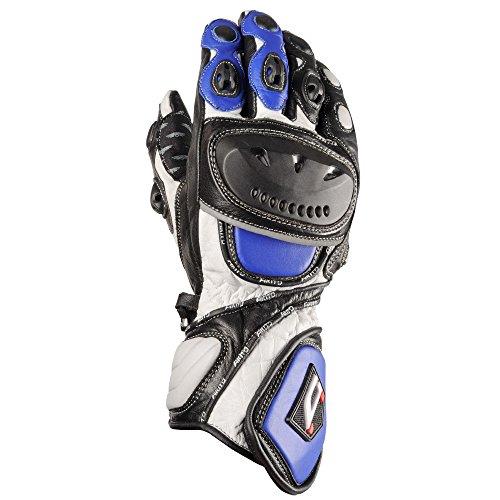 AKITO Handschuhe SPORT MAX, Schwarz/Blau, XL