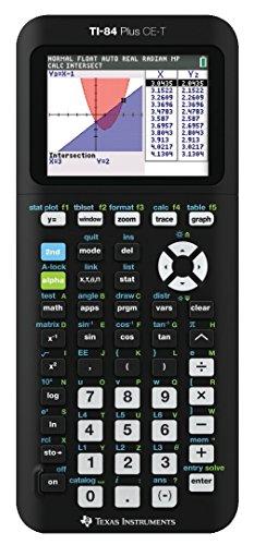 Texas Instruments 84PLCE/TBL/2E5/A TI-84 Plus CE-T Grafikrechner, inklusiv USBK Link