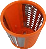 Moulinex Konusreibe zum feinen Raspeln, Orange