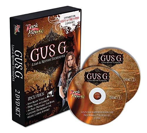 Gus G - Lead & Rhythm Techniques Guitar (2 Dvd) [Edizione: Regno Unito]