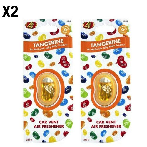 jelly-belly-tangerine-flavour-vent-car-air-freshener-2-pack-twin-pack