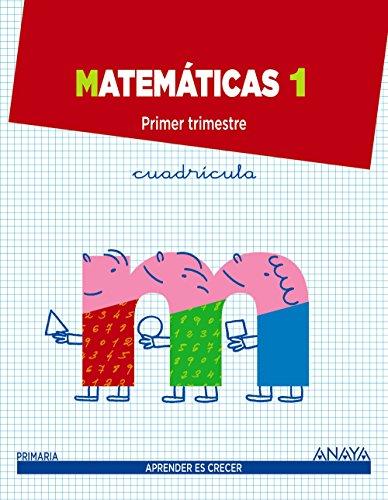Matemáticas 1. (Aprender es crecer) - 9788467834956