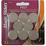MAGIC SLIDERS L P 63417 32Pk 1 Oat Felt ...