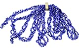 Weihnachts-Girlande mit Perlen Royal Blau, 270 cm