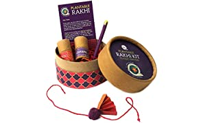 bioQ Plantable Rakhi | Classic Kit | with Festive Essentials | Raksha Bandhan 2020