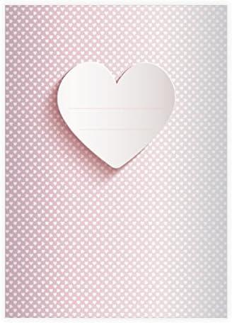 32 Jolis cahiers roFemmetiques avec des des des coeurs pour l'école primaire, rose A4 (29,7 x 21; 32p) linéatur 2 | De La Mode  48de01