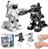 Hzl - 2.4G Robot Boxeur Combat Radiocommandé Robots Noir et blanc