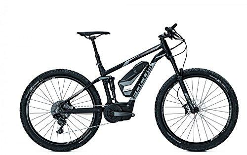 E-Bike Focus Thron SL 130 E-Mountainbike 11G 17AH 36V 27,5' Herren div. Rh, Rahmenhöhen:44, Farben:blackm 36v/17ah