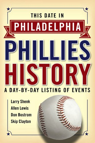 This Date in Philadelphia Phillies History:A Day-by-Day Listing of Events (English Edition)