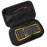 Khanka Eva Hart Reise Tragetasche Tasche für Multimeter Digital Fluke 117/116/115/114/113/103/17B+/177/87V/Multimeter