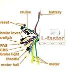 Contrôleur de moteur Brushless moteur contrôleur électrique vélo Hub Hall capteur Controler électrique automobile 24V36V48V 250W350W (24V)