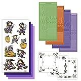 Karte Deco, Halloween Punkt und Do 20hobbydots Card Set