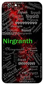 Nirgranth (Simple Behaviour) Name & Sign Printed All over customize & Personalized!! Protective back cover for your Smart Phone : Moto G-4-PLAY