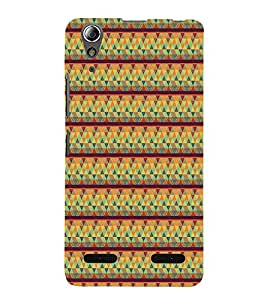 Colourful Pattern 3D Hard Polycarbonate Designer Back Case Cover for Lenovo A6000 :: Lenovo A6000 Plus :: Lenovo A6000+