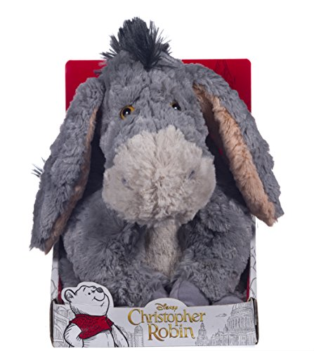 Disney christopher robin collection winnie the pooh eeyore soft toy–25cm