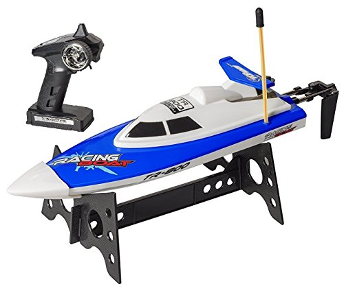 Top Race tr-800 Remote Control Water Speed Boat Toy