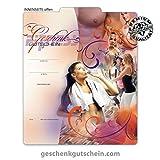 25 Stk. Geschenkgutscheine für Fitnessstudios, Fitnesscenter, Sport, Bewegung FI200