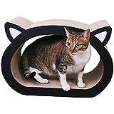 Gato Rascador de Tablero, Legendog Cojín que Rasga del Gato Cabeza Grande del Gato en Forma de Gato Gato de la Cama del Salón para el Gatito