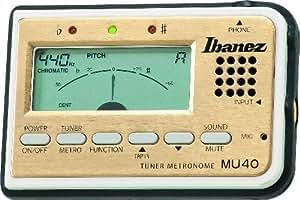 Ibanez mu40 chromatique metronome micro incorpore