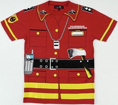 Feuerwehr-erwachsenen T-shirt (Klein 8946 - Feuerwehr T-Shirt, Gr. 140)