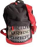 J D M Bride Rucksack mit roten Schulterriemen, grünes Innenfutter, Laptopfach (bride jdm takata backpack sparko)