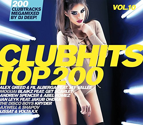 VA - Clubhits Top 200 Vol. 10 - 3CD - FLAC - 2017 - VOLDiES Download