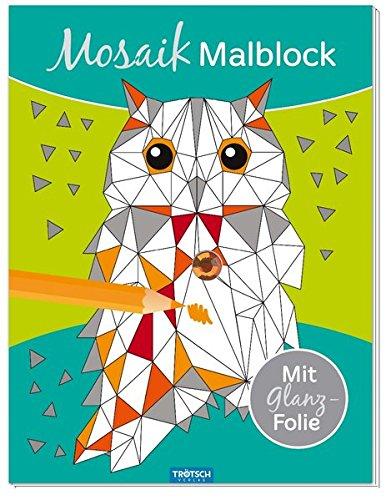 MOSAIK-Malblock: Mit Glanzfolie