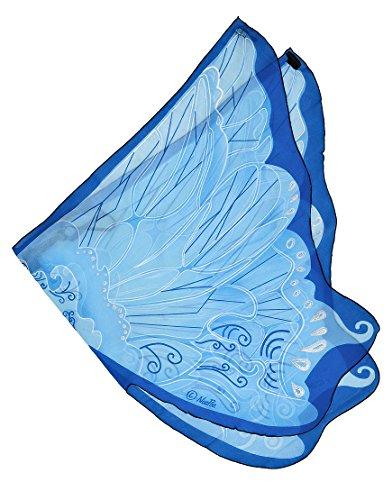 Dreamy dress-ups blau Fee Flügel Kostüm