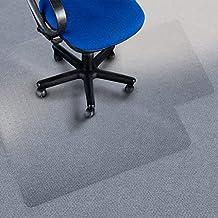 Silla etm itcentre con labio - alfombra protectoras 100% ecoyoga policarbono, no-reciclaje - Material translúcido, fuerza de alto impacto