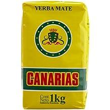 Yerba Mate CANARIAS, sabor Tradicional. 1 Kilogramo.