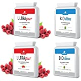 2 x UltraPur Wild Raspberry Ketone & 2 x BioSlim Daily Power Cleanse