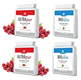 2 x ultrapur Wild Raspberry Ketone & 2 x Bioslim Daily Power Cleanse immagine
