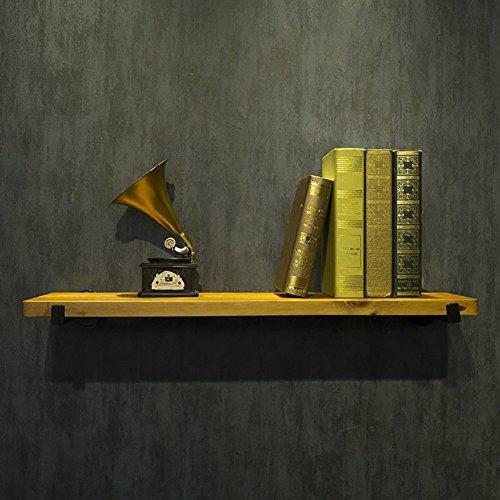 Le mur rétro en fer forgé en bois solide étire le panneau accrochant décoratif de salon de style américain