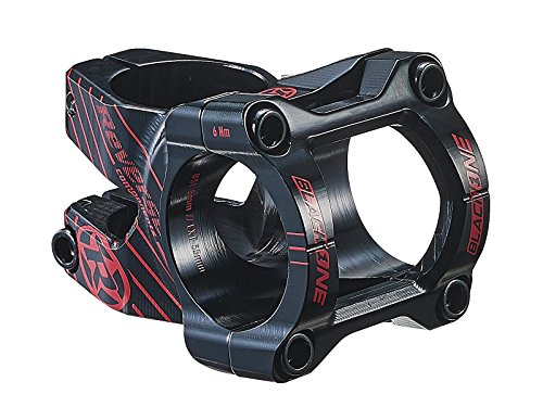 Reverse Black One Enduro Vorbau 31.8mm 35mm 8° schwarz/rot