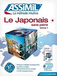 Le Japonais sans Peine - Tome 1 ; Livre + CD Audio (x3)