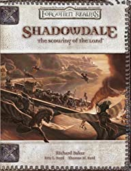 Shadowdale: The Scouring Of The Land: A Forgotten Realms Adventure Supplement