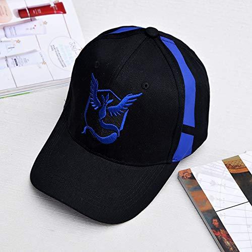 Imagen de poiuiu  de béisbol pokemon go  sombrero equipo valor equipo mystic team instinct pokemon  go equipo negro  de béisbol hombres pokemon hat mujeres, a