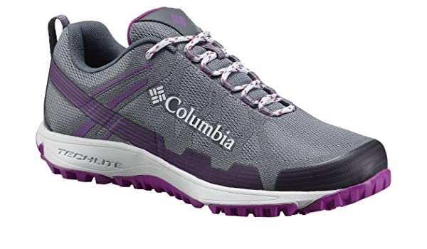 Columbia Conspiracy V Shoes Women TI Grey Steel/Intense Violet US 6,5