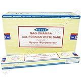 Nag Champa Encens Satya Californian White sage - x12